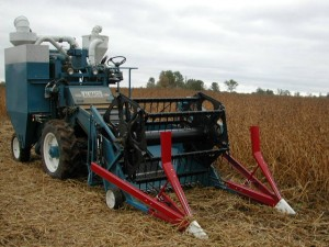 Soybean Research Plot Combine